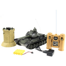 Super Big 99869 1:28 Scale RC Tank VS Bunker Model Remote Control Electric Eduction Army Toys kis Gift(China)