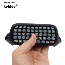 kebidu Original Game Keyboard Keypad ChatPad Gamepad Wireless Controller Text Messenger Keyboard For XBOX 360 Black Professional(China)
