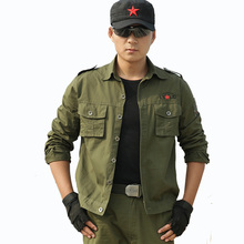 Airborne Tactical Suit for Mens Jacket + Pant Marine Corps Soldier Army Combat Camouflage Special Forces Clothes