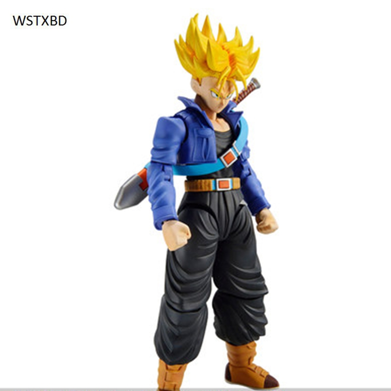 WSTXBD Original Dragon Ball Z DBZ Figure-Rise SSJ Future Trunks PVC Figure Brinquedos Toys Figurals Dolls<br>