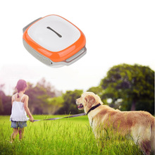 Waterproof Pet Real Time Locator Rastreador Localizador Chip Mini Pet GPS Tracker With Collar Dogs Cats Suppliers Hot Sale(China)