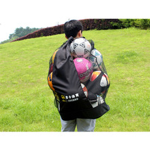 Football bag for balls Professional player training bag mesh holder Soccer ball bags put 15pcs