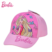 Barbie Summer Kids Cap Baseball Cap Children Snapback Cap Girls Brand Cap for 3-14 year old(China)