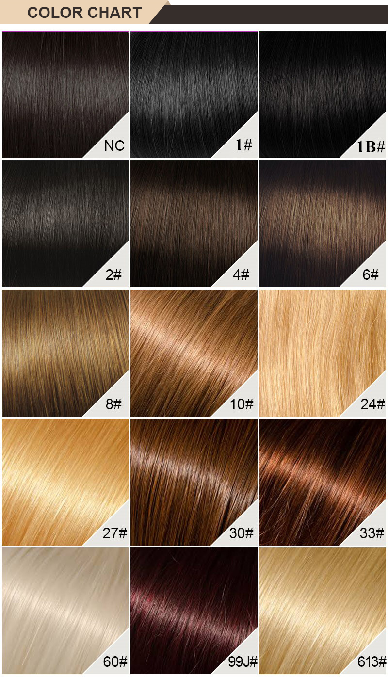 3. Color Chart