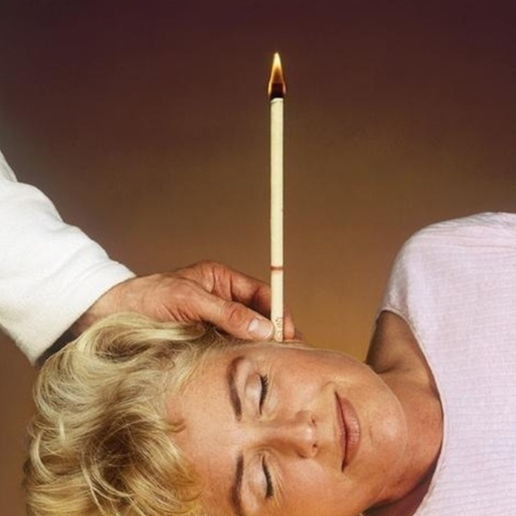 40 Pcs Coning Beewax Natural Ear Candle Ear Candling Therapy Straight Style Ear Care Thermo-Auricular Therapy 10