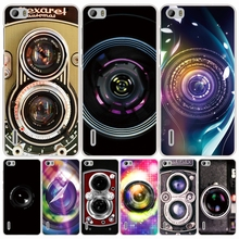 Camera Lens Sticker cell phone Cover Case for huawei honor 3C 5A 4A 4X 4C 5X 6 7 8 Y6 Y5 2 II