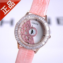 Genuine Brand high-end fashion ladies fashion diamond table Every dog has his day trend of Korean women fashion watches(China)