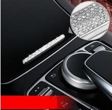 Car Center console Panel decoration sticker Mercedes Benz 2016-2017 E-class W213/ 2015-2017 C-class W205