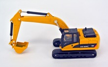 jing bang 1:60 Grasp the woodworking machinery excavator loaded truck mixer truck model of car alloy children's toy car(China)