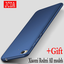 JCDA Brand For Xiaomi mi 6 4 5 5s plus 4c 5c note 2 Redmi 3 3S 4 pro prime 4X 4A note 3 4 4X Mobile phone case cover PC Back