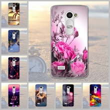 Fundas Phone Case Cover For LG Leon 4G LTE H340N C50 C40 Soft TPU Silicon Flowers Animals Scenery Mobile Phone Bag Cover