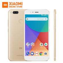 Global Version Xiaomi Mi A1 MIA1 Mobile Phone 4GB 64GB Snapdragon 625 Octa Core 12.0MP+12.0MP Dual Camera Android One(China)
