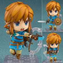 Nendoroid Series NO.733 The Legend of Zelda Breath of the Wild Link PVC Action Figure Collectible Model Toy 10cm(China)