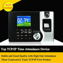 Biometric Fingerprint Time Clock Recorder Attendance soco ingles TCP IP Electronic Punch Card ID Reader System Machine Employee