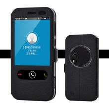 "For ASUS Zenfone Zoom ZX551ML case open the window flip holster for 5.5"" FHD cell phone by free shipping"