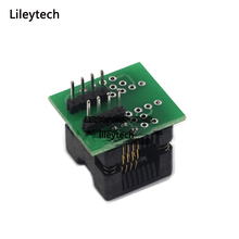 SOP8 SOIC8 SO8 to DIP8 IC EZ Programer Socket Pitch 1.27mm IC Width 3.9mm 150mil IC Test Adapter EZ CH341A CH341