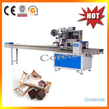 Automatic chocolate back seal packaging bag machine(China)