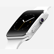 GZDL X6 Bluetooth Smart Watch Wristwatch For Apple iPhone IOS Android Phone Smartwatch SmartBand With Cam Support SIM TF WT8977