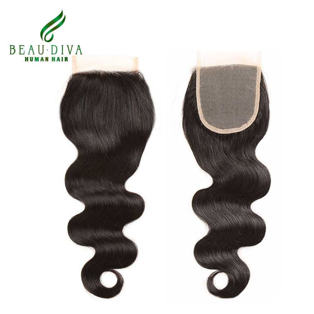 Lace Closure Brazilian Body Wave Brazilian Virgin Hair Lace Closure Bleached Knot,Lace Closure Human Hair Closure With Baby Hair<br><br>Aliexpress
