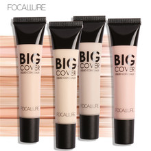 FOCALLURE Maquiagem Face Big Cover Dermacol Concealer Liquid Face Corrector Cosmetics Easy to Wear Makeup Concealer Oil-control