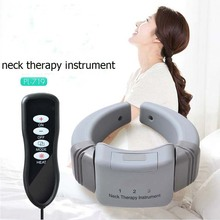 Cervical Massage Machine Household Recharge Digital Neck Massage Physical Therapy Infrared Heat Magnet Massage Body Relax Tool(China)
