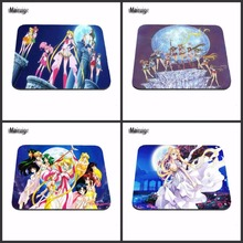 Custom Hot Selling Popular 4 PC of Hot Sailor Moon Mouse Pad Mat for Gaming PC Anti-slip Mouse Mat for Optical/Trackball Mouse