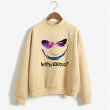 Galaxy Letter Sweatshirts Women Print Hoody Why So Serious Womens Sweatshirts Hoodies Plus Size Letter Pullover NSW-C10235(China)