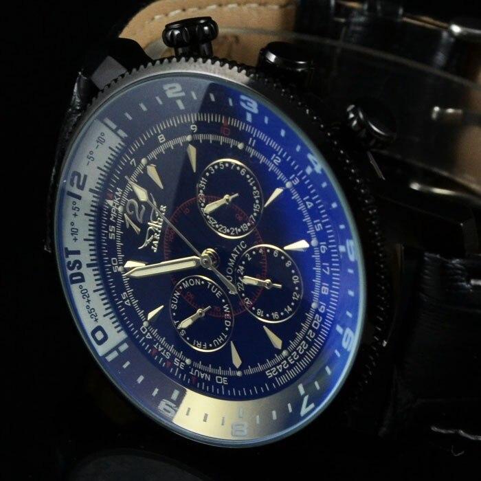 Luxury Brand Jaragar Mens Watch Auto Date Calendar Watch Mechanical Automatic Wristwatch Male Sport Watch Gift<br>