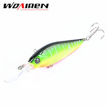 1Pcs Hard Lures 11cm 11.7g Japan Baits Fishing Baits Crank bait Plastic 3D Eyes Wobblers Plug Freshwater Fish Lure YR-322