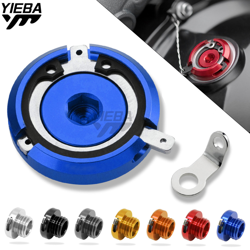 M20*2.5 Motorcycle Reservoir Cup Engine Oil Filter Cover Cap For DUCATI 899 PANIGALE 1199 PANIGALE/1199 PANIGALE S BMW R nine T