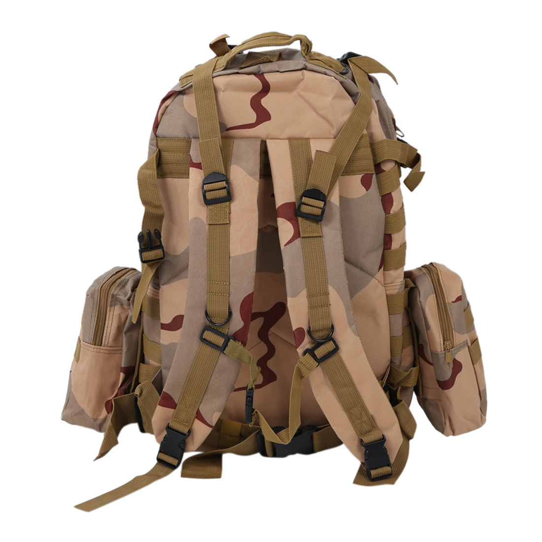 Army Backpacks 55L 3D Molle Backpack multifunctional trekking backpack for travel - with add<br>