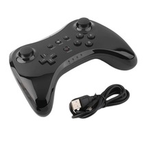 Classic Dual Analog Bluetooth Wireless Remote Controller USB U Gaming Gamepad for for Nintendo Wii U White Black Wholsale