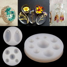 1pc Silicone Necklace Mold Pendant Mold Resin Silicone Mould DIY Jewellery Making