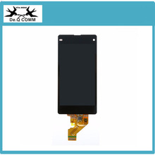 Free shipping Black Good quality  For Sony Xperia Z1 compact z1 mini M51w D5503 LCD display with touch screen assembly
