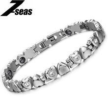 Hot Tourmaline energy bracelet /tourmaline bracelet health care Loving Heart germanium bracelets & bangles men jewelry 3022