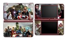 Avengers 345 Vinyl Skin Sticker Protector for Nintendo DSI XL LL for NDSI XL LL skins Stickers