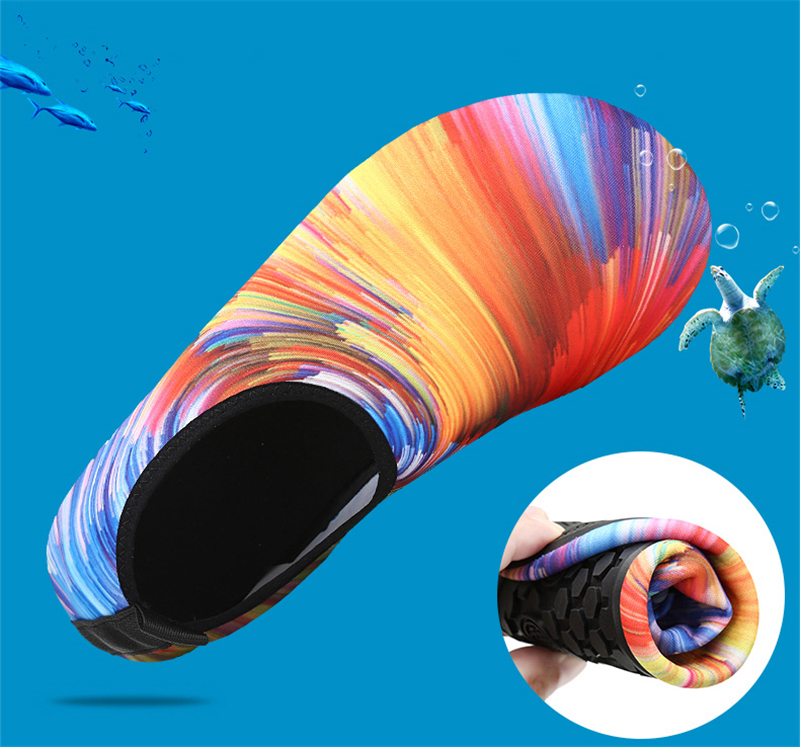 Soft Water Shoes Summer Shoes Men Beach Slippers Upstream Aqua Shoes Woman River Sandals Swimming Diving Socks Tenis Masculino 3