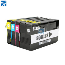4 x Ink Cartridge for HP 950 951 XL hp 8610 8620 8680 8615 8625 8600 8630 8100 8610 8660 printer cartridge hp950 show ink level(China)