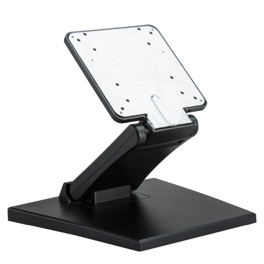 Adjustable LCD Monitor Stand Mount Folding VESA Monitor Desk Stand With VESA Hole 75x75mm 100x100mm (8)