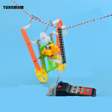Climbing rope robot/scientific physics experimental Educational toys/DIY technology production/puzzle/baby toys for children/toy