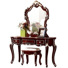 American furniture bedroom dresser vanity makeup mirror combination dressing table(China)