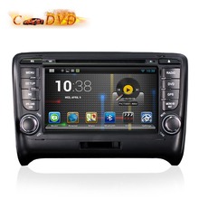 1024*600 Auto Car DVD for Audi TT GPS Android 5.1.1 A9 Quad Core 7 Inch 2 Din with Free 8GB GPS Card Retail Package 2017 New(China)