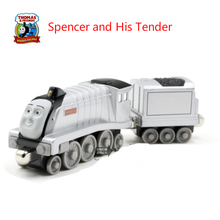 Spencer and His Tender -Thomas and Friends- Diecast Metal Train Megnetic Toy The Tank Engine Trackmaster Toy For Children Kids