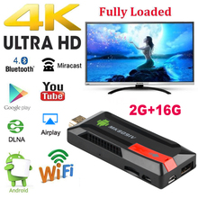 MK809 IV Android 5.1.1 TV Dongle RK3229 Quad Core 2G / 16G UHD 4K H.265 2.4 G WiFi AirPlay Miracast DLNA  Smart Media Player