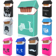 New Fashon Silicone Cigarette Box Cigarette Case Cover Smoking Accessories Cigarette Box Cigarette Holder Tobacco Box