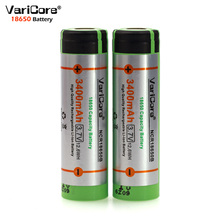 2PCS VariCore New Original 18650 rechargeable battery 3.7V Li ion bateria 18650 for panasonic ncr18650b 18650 battery(China)