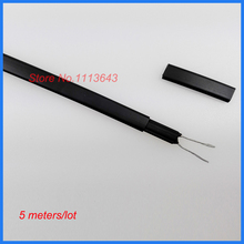 220V 20W/m Solar Upper Water Hose Anti-freeze Heating Cable Water Pipe Freeze Protection Heat Trace Cable 8MM(China)