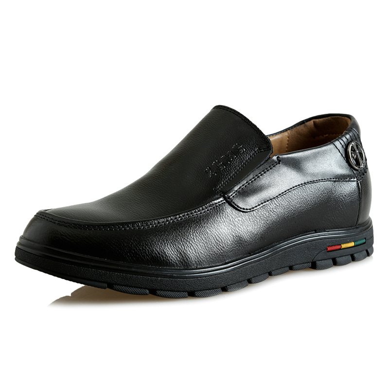 Zmx179 Comfortable Full Grain Leather Heightening Elevator Shoes Heels Grow with Hidden Inserts Men Taller 5.5CM Instantly<br><br>Aliexpress