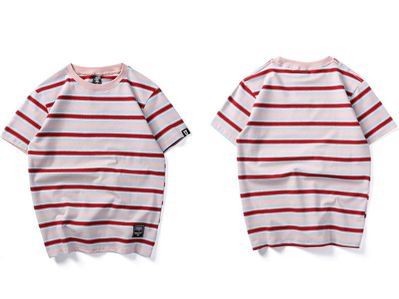 Harajuku Stripe T Shirts 1