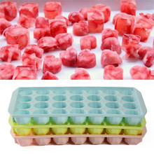 Ice Mould Tray DIY Creative Ice Cube Mold large diamond Plastic Fruit Ice Cube Maker Bar Kitchen Ice Cream Cooking Tools